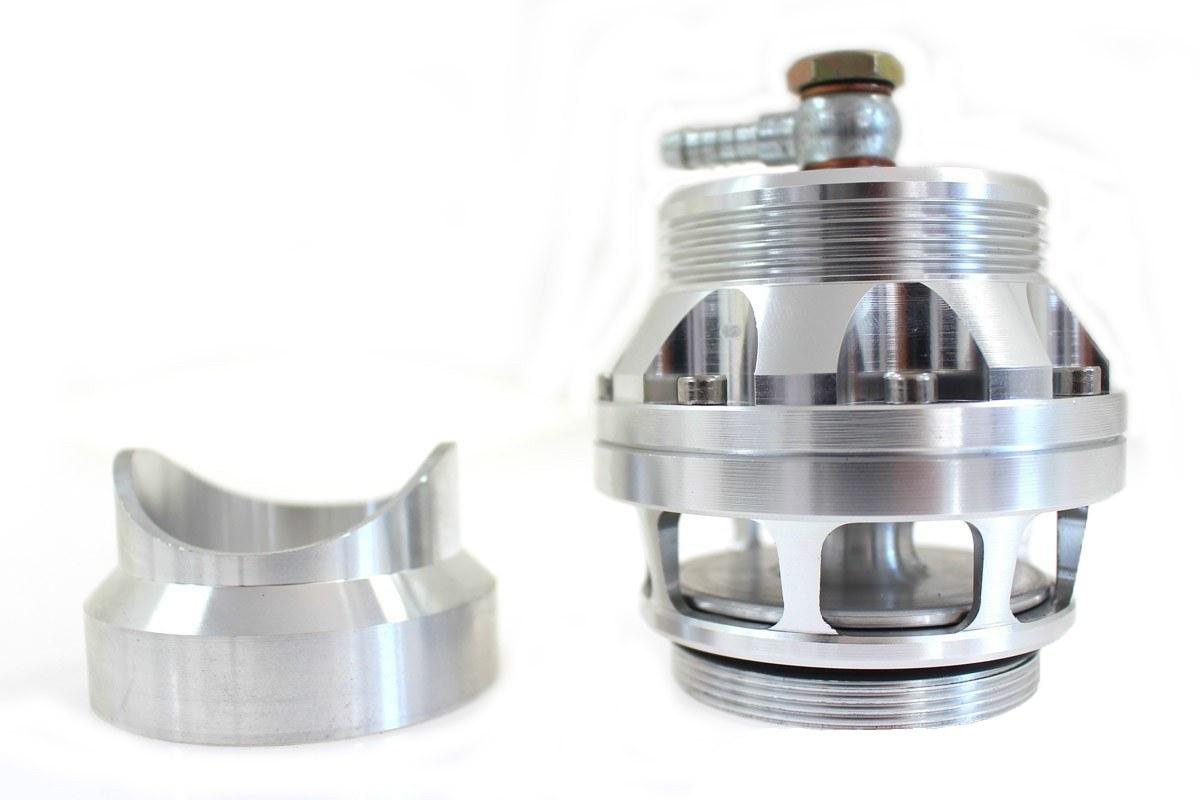 BLOW OFF Epman 50mm do wspawania Silver - GRUBYGARAGE - Sklep Tuningowy